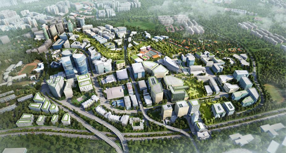Margaret Ville Singapore Aerial View